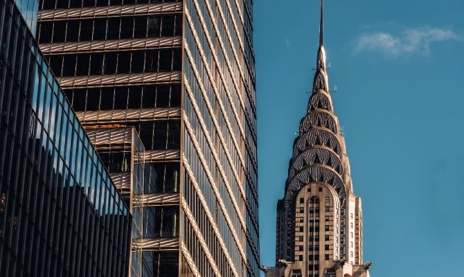 Famous Stainless Steel Buildings and Sculptures in the US