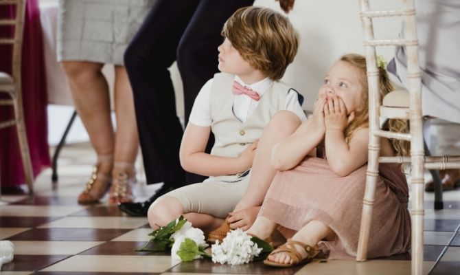 Tips for Keeping Kids Entertained at Weddings