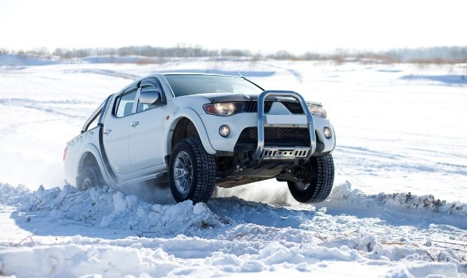 What To Do When Your Truck Is Stuck in Snow